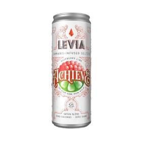 LEVIA Seltzer (5mg): Achieve Raspberry Lime