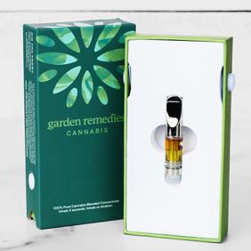 Garden Remedies Vape Cartridge: Grease Monkey (Indica dom.)