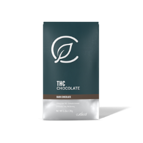 Curaleaf Dark Chocolate Bar (100mg): Indica