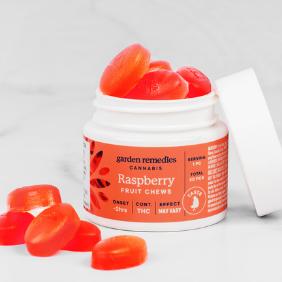 Garden Remedies Fruit Chews (100g): Raspberry