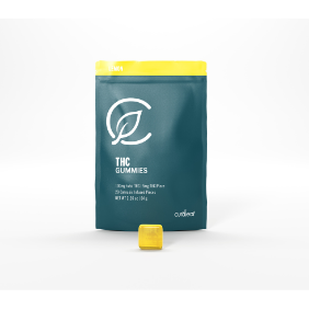 Curaleaf Classic Gummies (Lite): Lemon