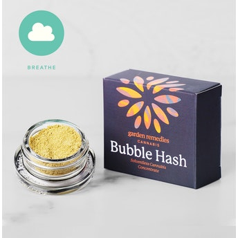 Garden Remedies Bubble Hash 1g: Mother of Purps